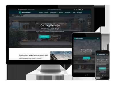 Modernhausbau-Reszponzív-weboldal-készítés-pécs