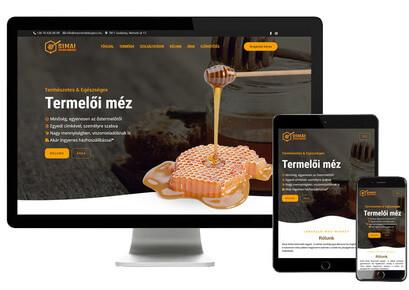 Termelői-méz-weboldal-készítés-őstermelő-zeusweb-mézes-webdesign-őstermelőknek-méhészet