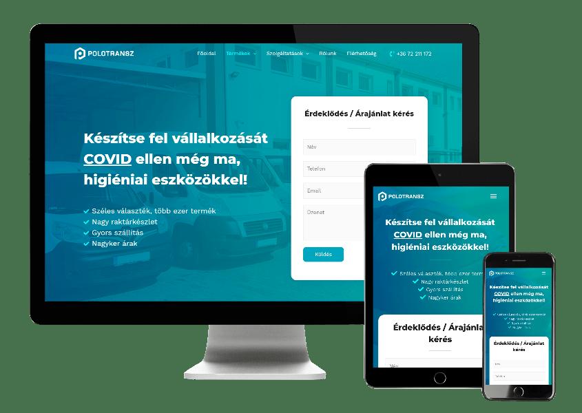 covid-elleni-termekek-polotransz-weboldal-keszites-pecs-zeusweb