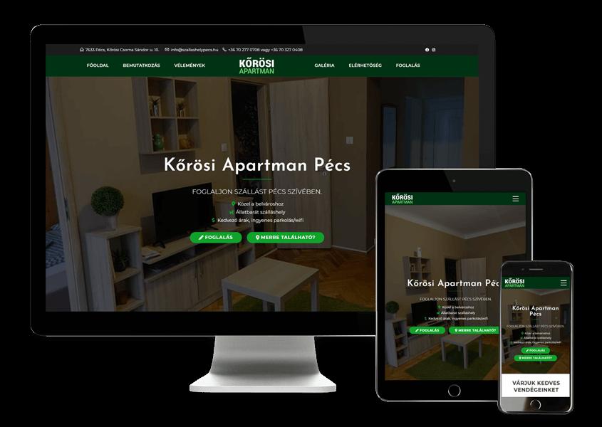 korosi-apartman-weboldal-keszites-pecs-szallasadoknak-szallas-nyaralo-foglalo-rendszer-zeusweb-nagy