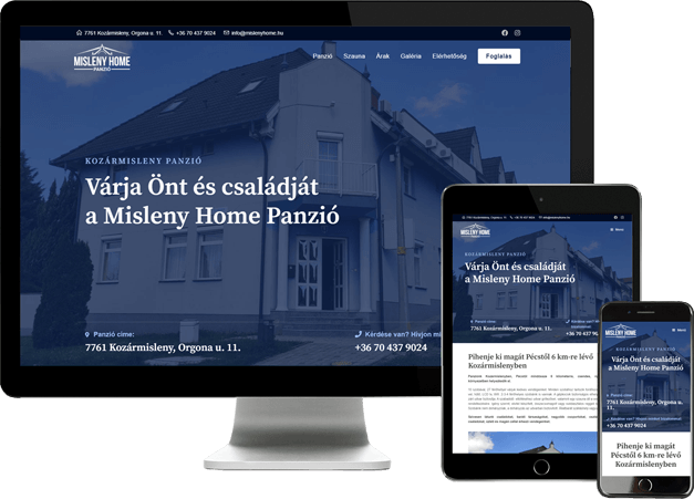 misleny-home-apartman-szallas-weboldal-seo